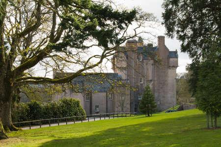 Crathes Castle in Scotland photo