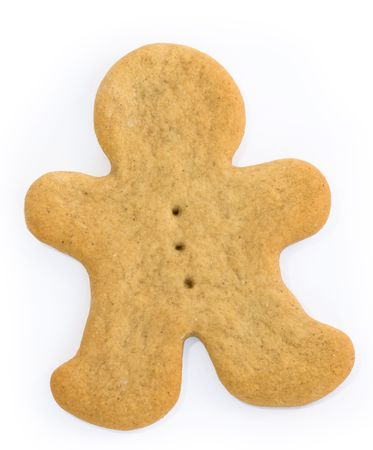 gingerbreadman: Blank gingerbreadman Stock Photo