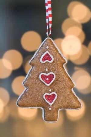 Pan de Navidad �rbol de adorno
