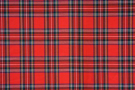 Royal Stewart tartan Foto de archivo