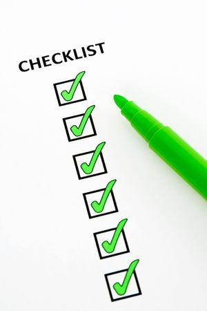 hacer: Lista verde