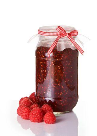 Raspberry jam Stock Photo - 4289450