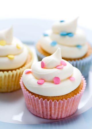pink cupcakes: Cupcakes