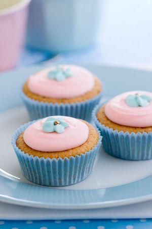 Pastel cupcakes Stock Photo - 4806229