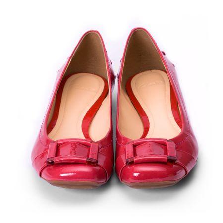 fraue: Shiny roten Schuhe