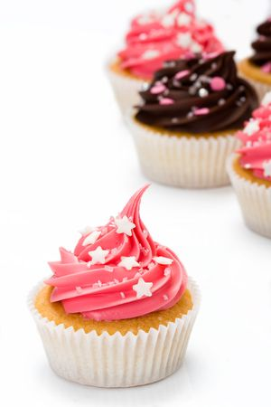 Assortment of cupcakes Stock Photo - 4909313