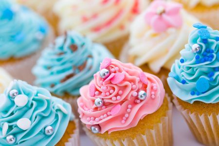 Cupcake assortment Stock Photo - 4997708