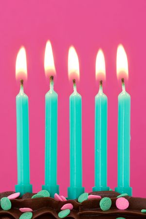 Birthday candles Stock Photo - 5034042