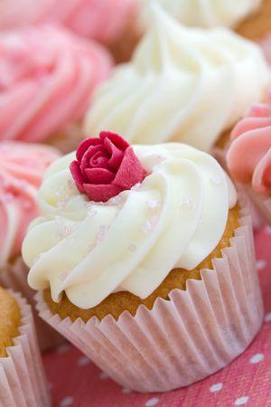 home baking: Cupcake assortment
