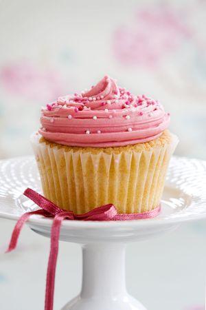 Pink cupcake  Stock Photo - 5367724