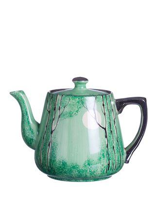 Antique teapot photo