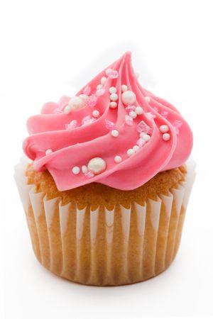 pink cupcakes: Pink cupcake