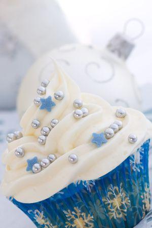Christmas cupcake Stock Photo - 5627433