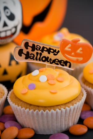 Halloween cupcake photo