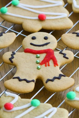 Gingerbread man  Stock Photo - 5691661