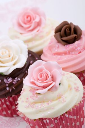 Wedding cupcakes Stock Photo - 5829407