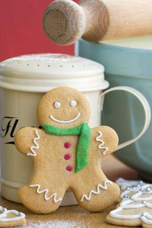 galletas de navidad: Hombre de jengibre