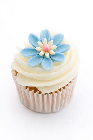 Flower cupcake Stock Photo - 6322994