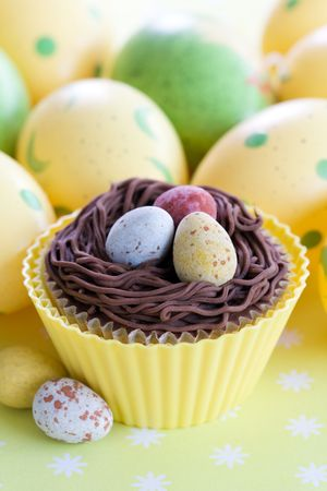 Easter cupcake Stock Photo - 6360001