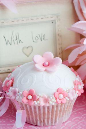 Cupcake gift  Stock Photo