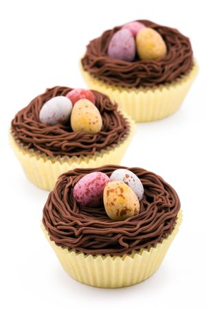 fairy cake: Easter cupcakes