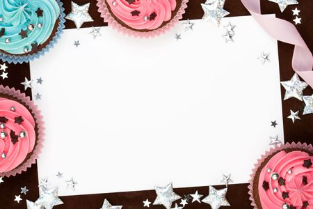 chocolate sprinkles: Party background
