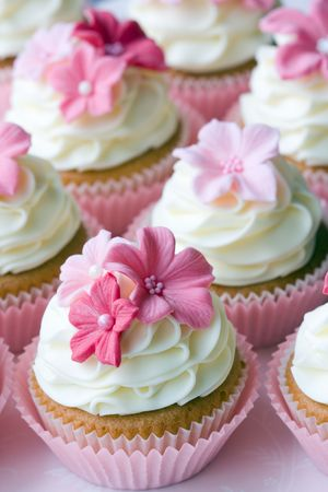 Wedding cupcakes Stock Photo - 6679981