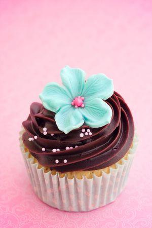 icing sugar: Cupcake