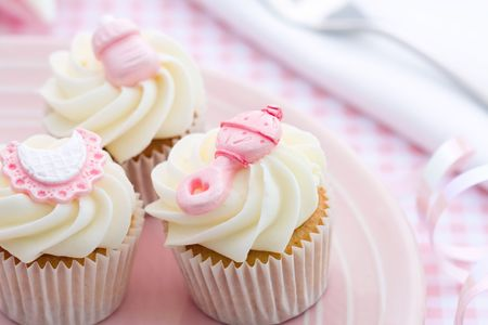 fairy cake: Cupcakes for a baby shower