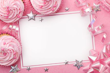 scrapbooking: Party background Stock Photo