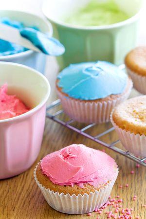 decoracion de pasteles: Cupcakes
