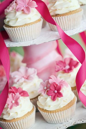 Wedding cupcakes Stock Photo - 7008803