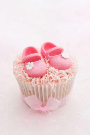 Cupcake for a little girl photo