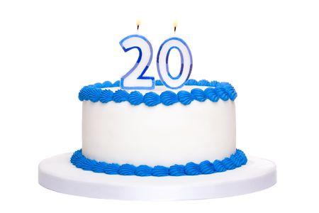 twenty: Birthday cake