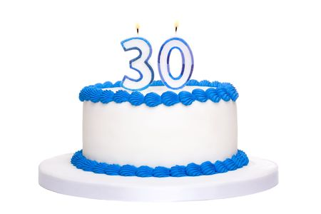 Birthday cake Stock Photo - 7161690