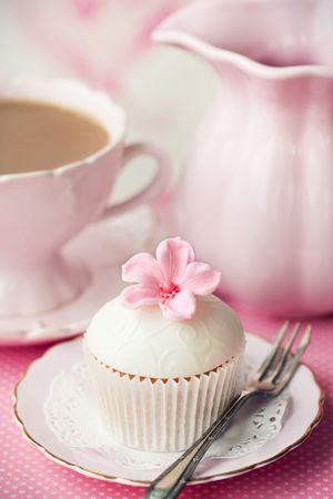 afternoon fancy cake: Afternoon tea