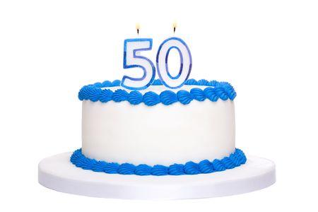 torta candeline: Torta di compleanno  Archivio Fotografico