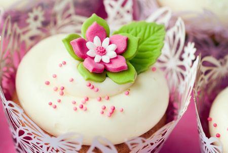 Hochzeit cupcakes  Stockfoto - 7708355