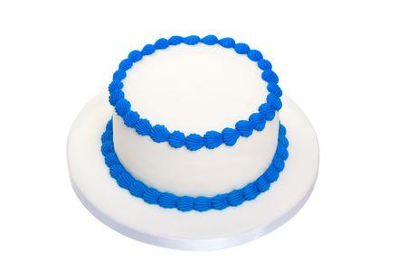 torte compleanno: Torta di compleanno vuoto  Archivio Fotografico
