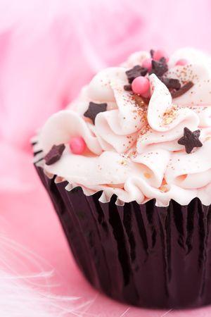 baking cake: Party cupcake Stock Photo