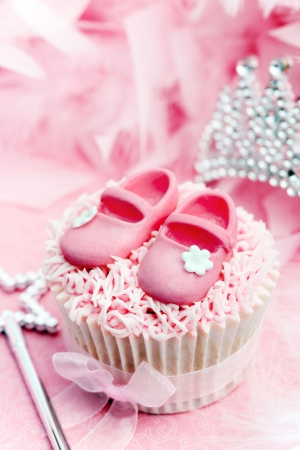 Princess cupcake photo