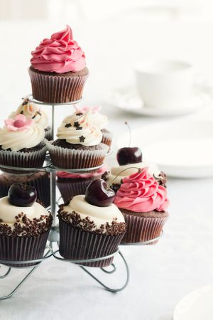 cup cakes: Cupcake stand