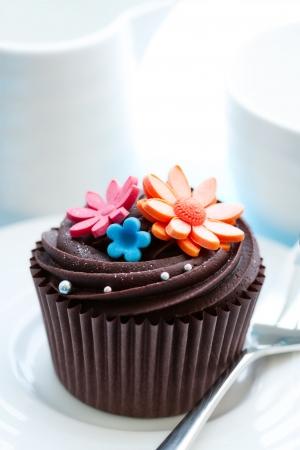 ganache: Cupcake