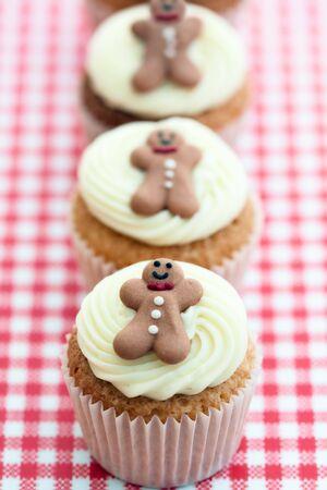 Christmas cupcakes photo