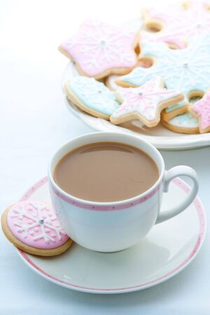 Snowflake cookies  Stock Photo - 8213049