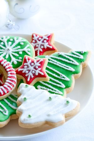 baking cookies: Biscotti di Natale