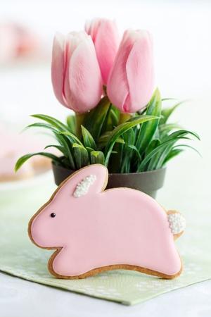 Cookie de conejo de Pascua