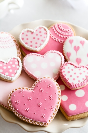 biscuit biscuits: Valentine cookies