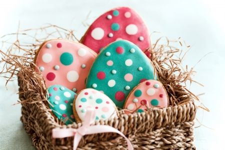 Easter cookies  Stock Photo - 8961281