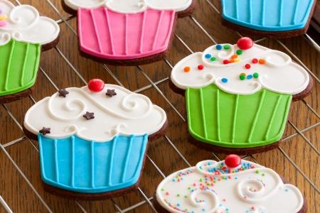 Cookies Cupcake Foto de archivo